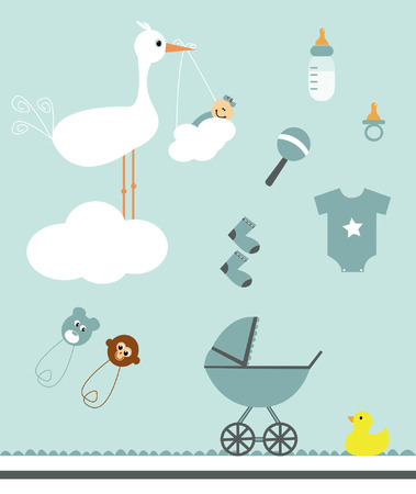 Baby Kit Иллюстрация