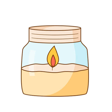 Colored isolated illustrations in cartoon style with an outline on a white background.