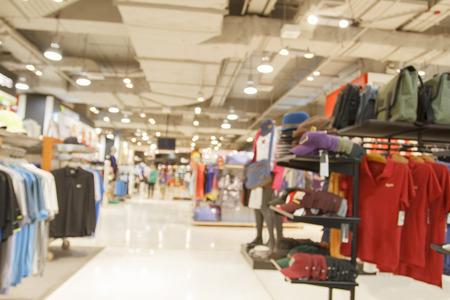 supermarché / centre commercial flou pour le fond