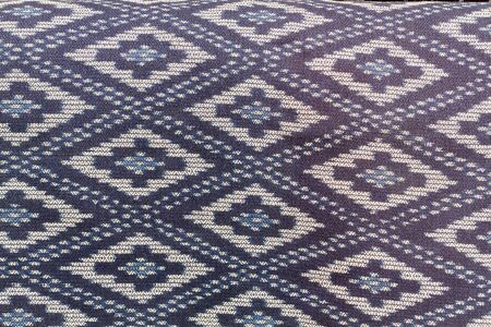 far eastern: pattern hand-woven fabrics from Thailand use with background
