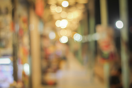 local market and supermarketmall blur for background and shopping