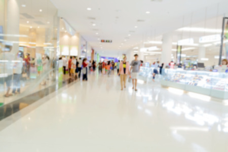 supermarketmall blur for background and shopping