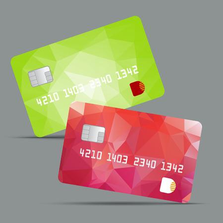 credit card illustration Illustration