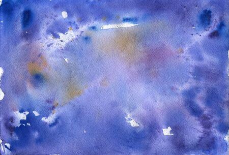 bumpy: Abstract blue watercolor background. Space backgraund for your design Stock Photo