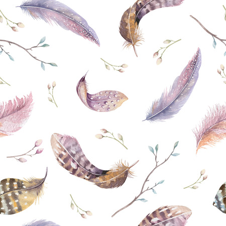 Feathers repeating pattern