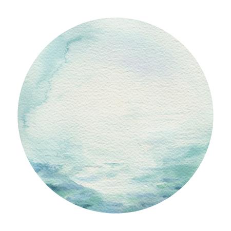 Watercolor ocean surf beach, adventure, sea holiday activity, travel illustration. Island summer background Imagens