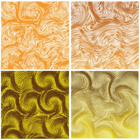 Set of grunge wavy background Stock Vector - 11999702