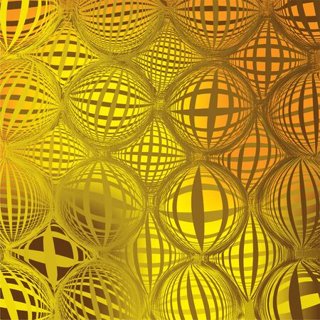 grating: Grid structure yellow-brown background