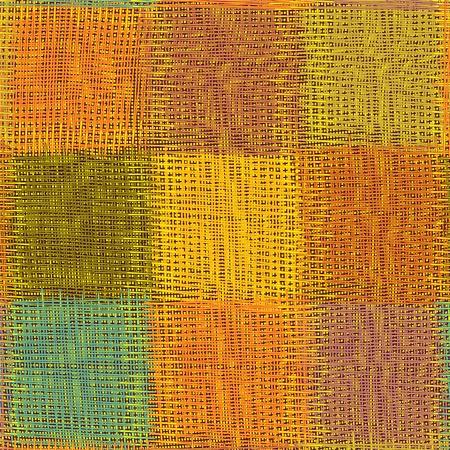 meshy: Meshy colorful square seamless pattern Illustration