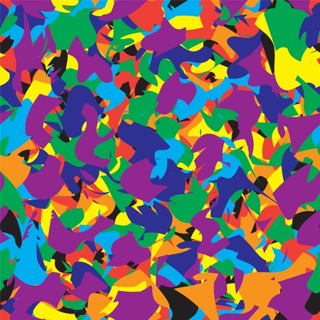 Seamless abstract colorful pattern Vector