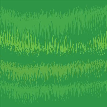 Green grass seamless background Vector