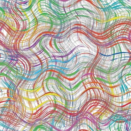 Grunge ondulé rayé fond coloré transparent Banque d'images - 15497896