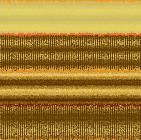 corduroy: Seamless horizontal striped colorful quilt pattern Illustration