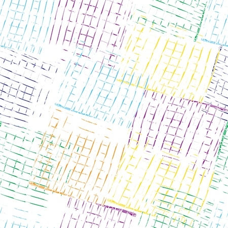 Grunge seamless pattern with colorful strokes
