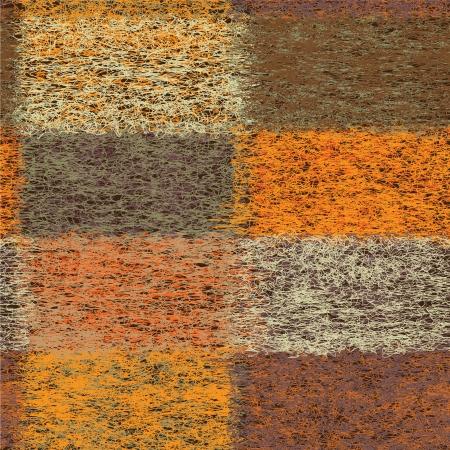 Grunge forrado edred�n colorido incons�til del modelo de la tela escocesa de lana