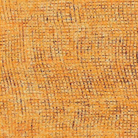 stockinet: Grunge striped stockinet background in orange and brown colors