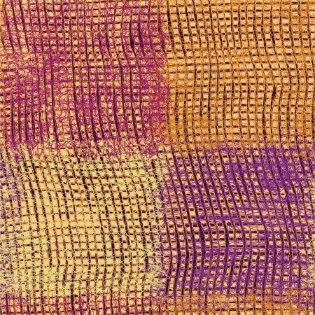 tejidos de punto: Seamless grunge textura de tela a cuadros tejido de punto