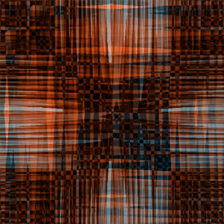 Grunge striped seamless pattern in brown, orange and blue colors Stock Vector - 17504758