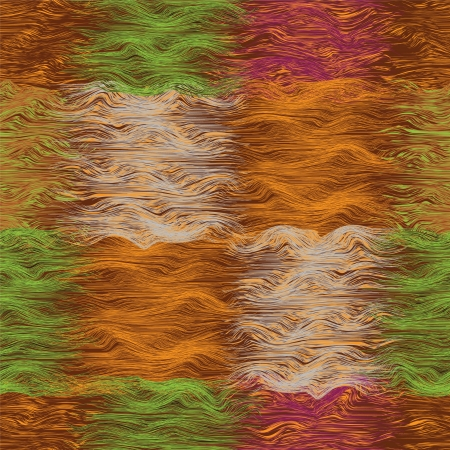 meshy: Seamless grunge striped and wavy quilt seamless pattern