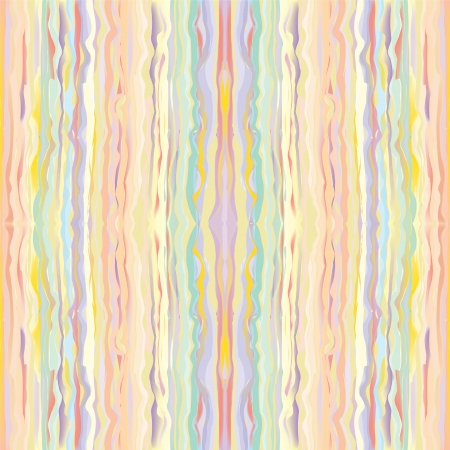 Seamless grunge striped colorful vertical pattern in pastel colors Vector