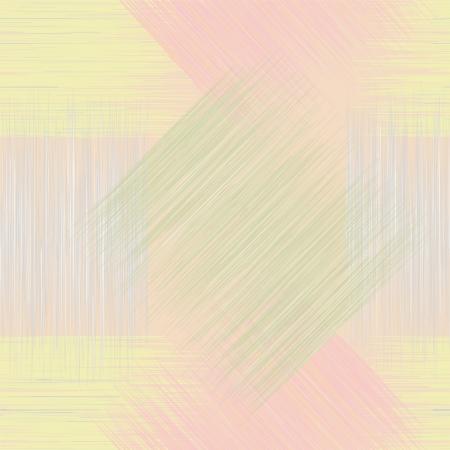 Naadloze geometrische geruit grunge gestreept patroon in pastel kleuren