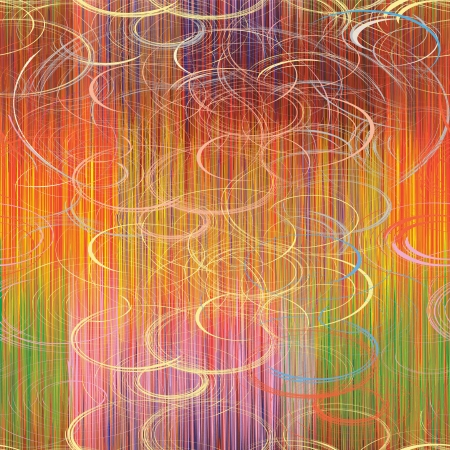 Motif coloré transparent avec des rayures grunge et de cercles Banque d'images - 19897443