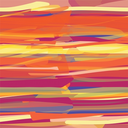 Grunge striped colorful horizontal seamless pattern Stock Vector - 21386292