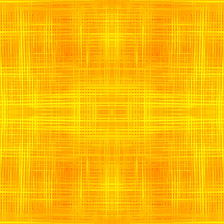 Grunge striped and checkered seamless pattern in yellow and orange colors Vector