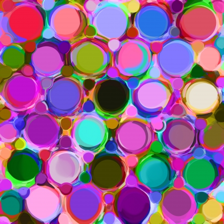 rainbow stripe: Background with row of colorfull grunge circles and rings
