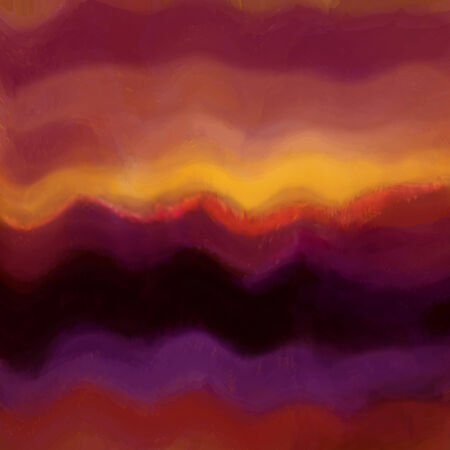 Grunge stained ,striped, wavy background in violet, yellow,brown, pink colors photo