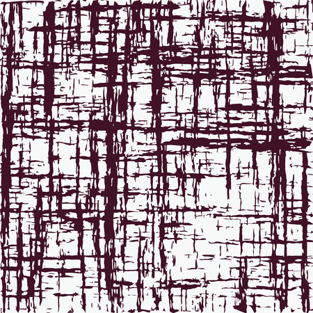 Grunge striped and stained strikethrough graphic seamless pattern