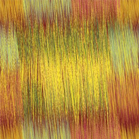 verde y morado: Grunge rayas patr�n transparente brillante en amarillo, verde, colores p�rpuras Vectores