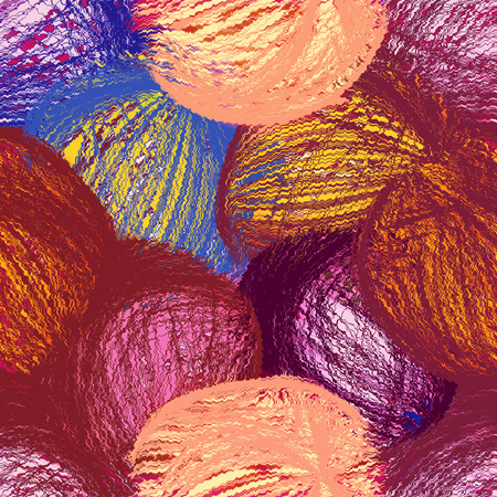tangled: Abstract background with grunge tangled colorful clews