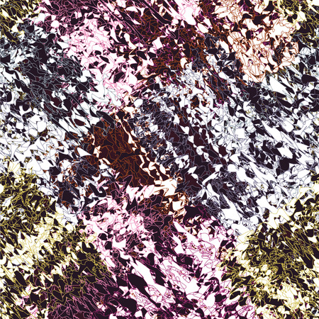 mohair: Grunge striped weave colorful cloth seamless pattern