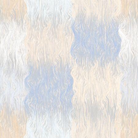 grunge a rayas sin fisuras y modelo a cuadros ondulado en azul pastel, color beige, colores blancos