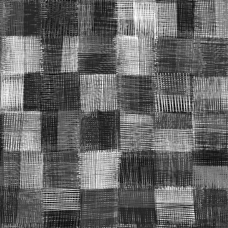 guilt: Checkered grunge striped guilt seamless pattern in black and white colors