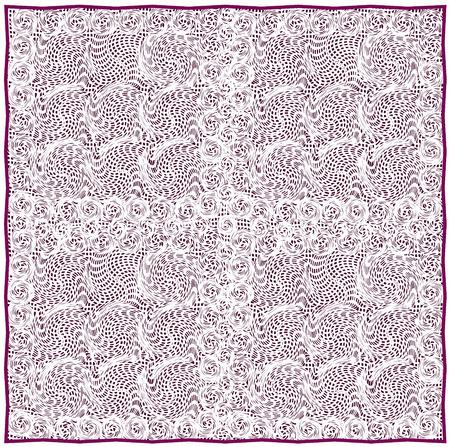 servilleta de papel: servilleta de encaje con el grunge a rayas y el patrón se arremolinaba en telón de fondo violeta y violeta frontera