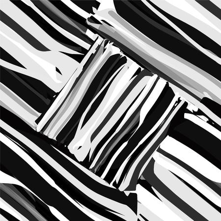 pattern geometric: Grunge striped diagonal seamless pattern in black,white ,grey colors