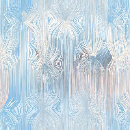Patrón vertical transparente con grunge ondulado elementos ondulados en colores pastel.