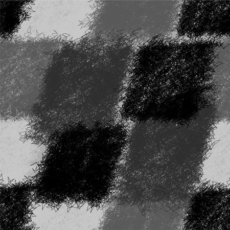 Seamless diagonal pattern with grunge striped shaggy elements in black,white,grey design Illustration