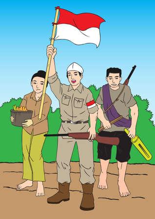 indonesisch: Indonesische Patriot