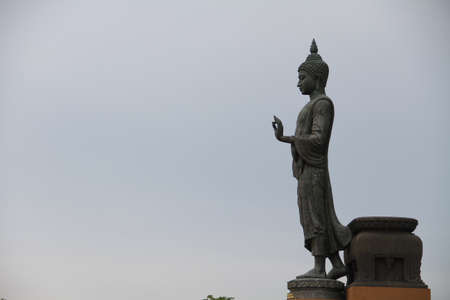 Standing Buddha statue Stock Photo - 13526866