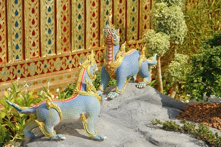 himmapan: Himmapan animals statue