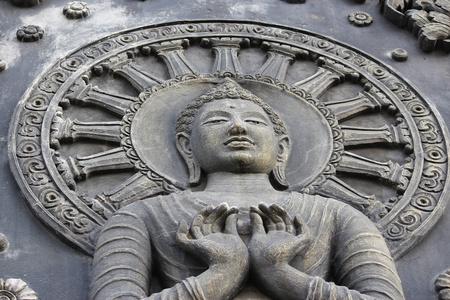 stu: ancient buddha image statue ,Thailand