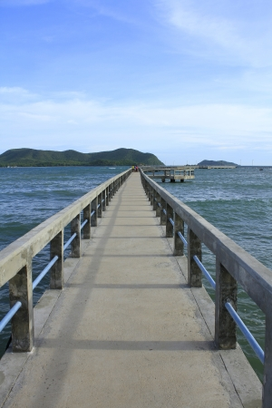wooden jetty Stock Photo - 15125967