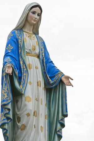 virgen maria: Virgen Mar�a Foto de archivo