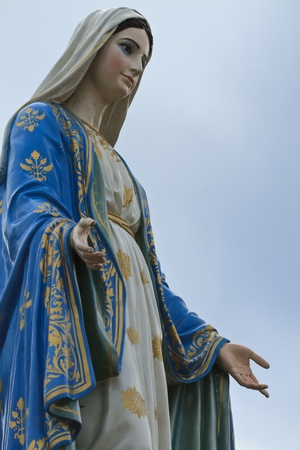 Virgin Mary photo
