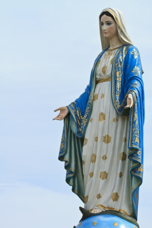 Virgin Mary 版權商用圖片