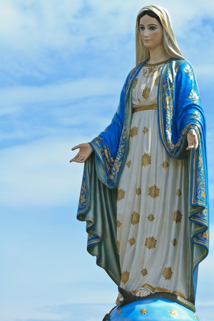 vierge marie: Vierge Marie Banque d'images
