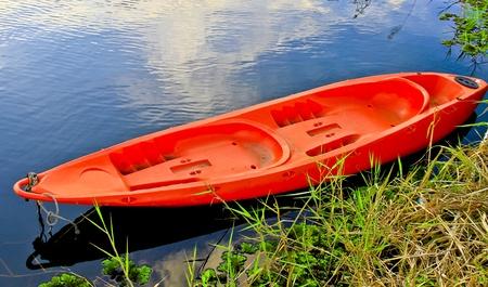 beautiful scenery , boats in lake,thailand Stock Photo - 17416823